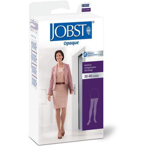 Jobst Opaque Women's 30-40 mmHg OPEN TOE Thigh High