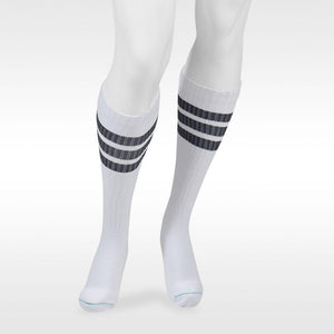 Juzo Power Comfort 20-30 mmHg Knee High, Retro White