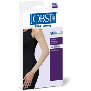 Jobst Bella Strong 30-40 Armsleeve w/ Silicone Top Band