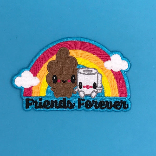 Bored Inc. Friends Forever Poo & TP Patch