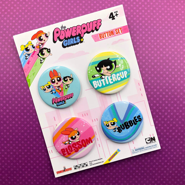 The Powerpuff Girls Button Pack