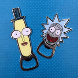 Rick and Morty Magnetic Bottle Opener- Rick