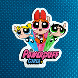 The Powerpuff Girls Logo Sticker