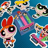 The Powerpuff Girls Sticker- Bubbles