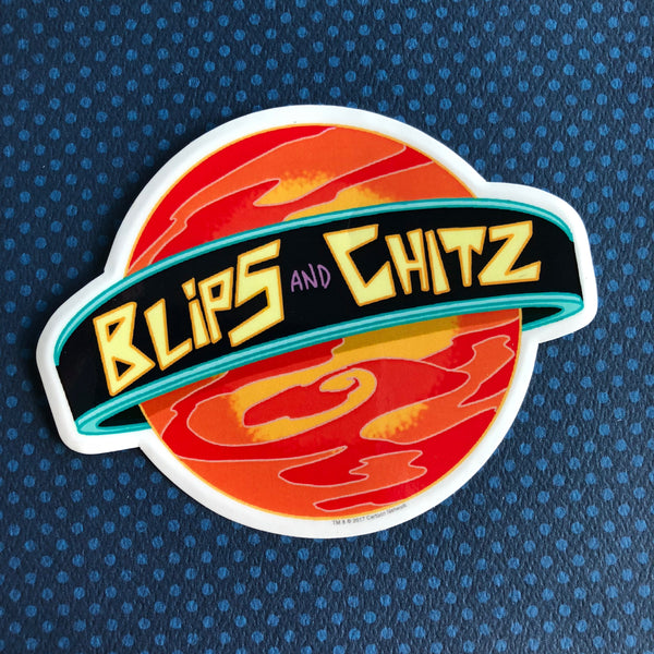 Rick and Morty Sticker- Blips and Chitz