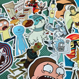 Rick and Morty Sticker- Running Rick