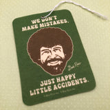 Bob Ross Air Freshener- Happy Little Accidents