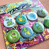 TROG 8 Piece Button Pack