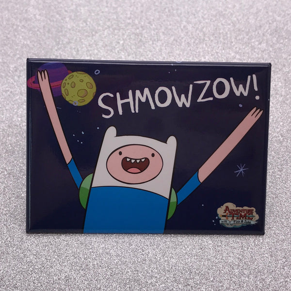 Adventure Time Finn Shmowzow Fridge Magnet