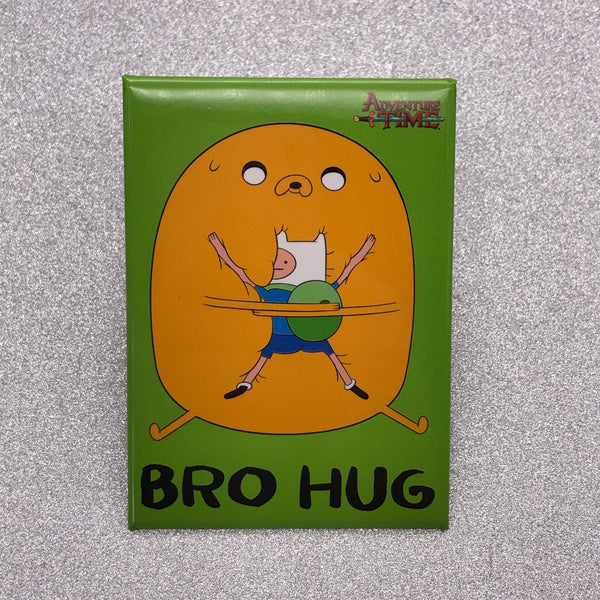 Adventure Time Bro Hug Fridge Magnet