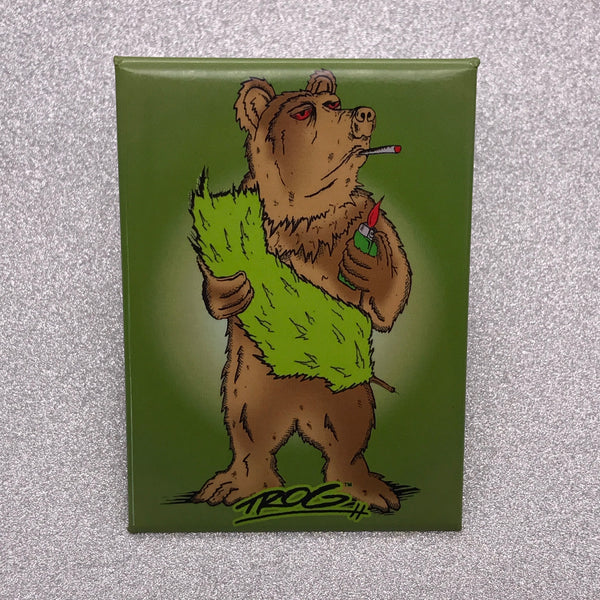 TROG Cali Bear Fridge Magnet