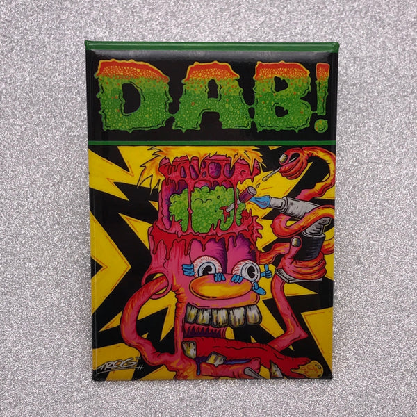 TROG Dab Fridge Magnet