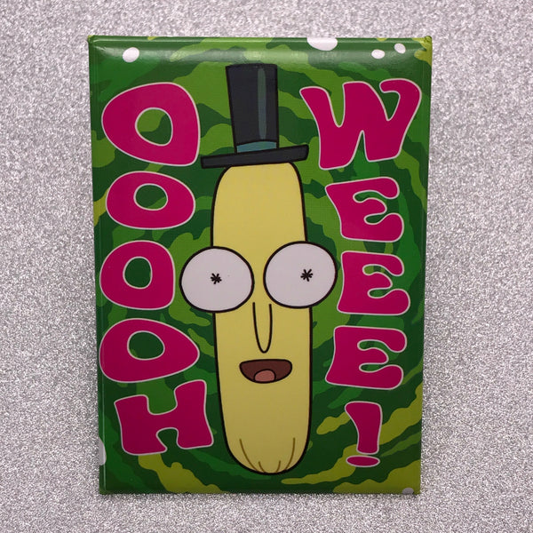 Rick and Morty Mr. PoopyButthole Magnet