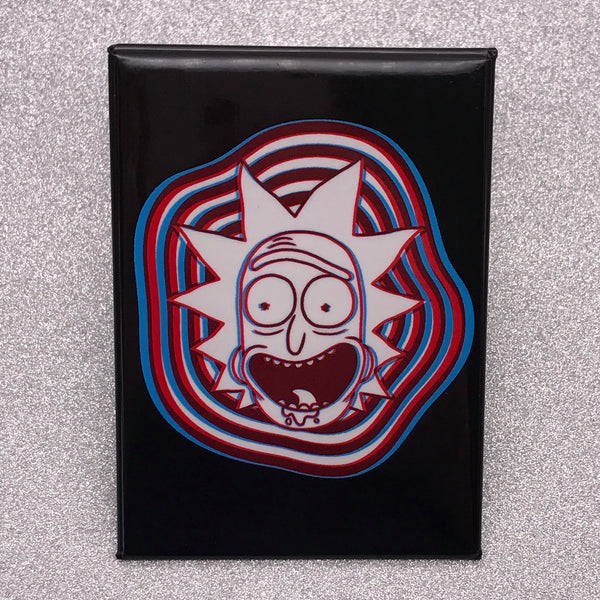 Rick and Morty 3D Rick Fridge Magnet