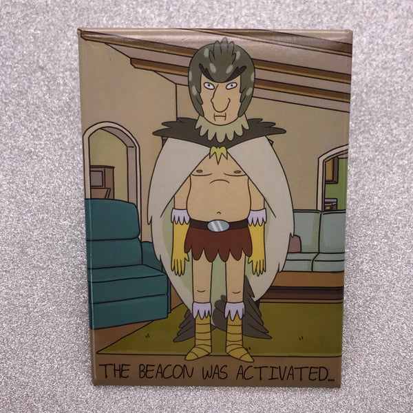 Rick and Morty Bird Person Fridge Magnet
