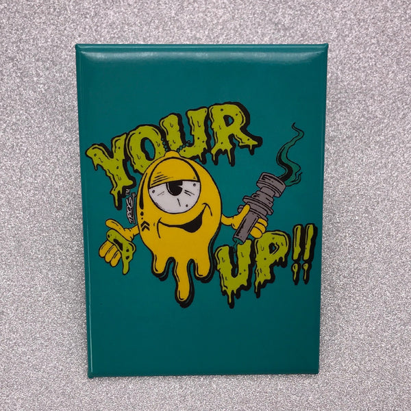 TROG Your Up Fridge Magnet