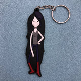 Adventure Time Marceline Rubber Keychain