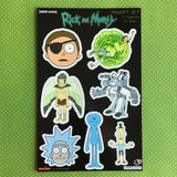 Rick and Morty Magnet Collection