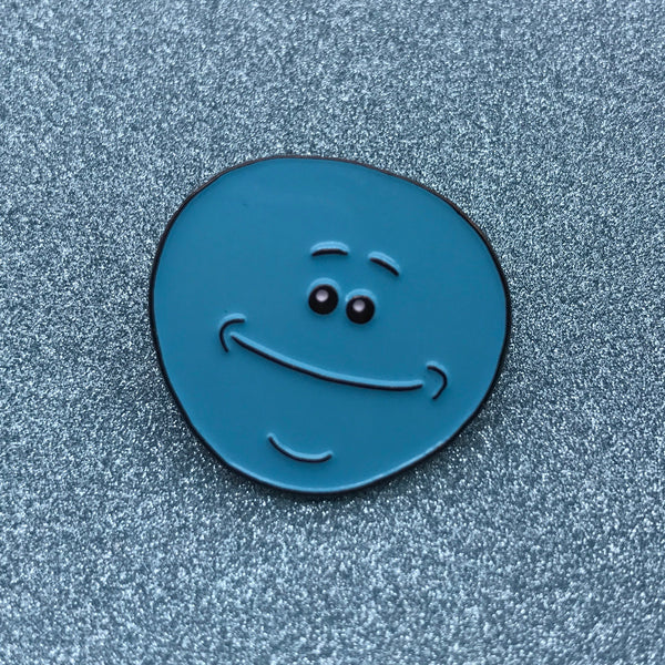 Rick and Morty Mr. Meeseeks Enamel Pin