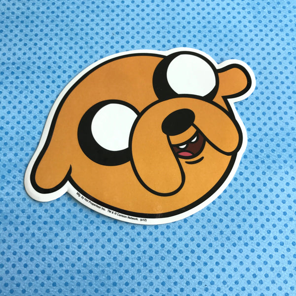 Adventure Time Jake Face Sticker