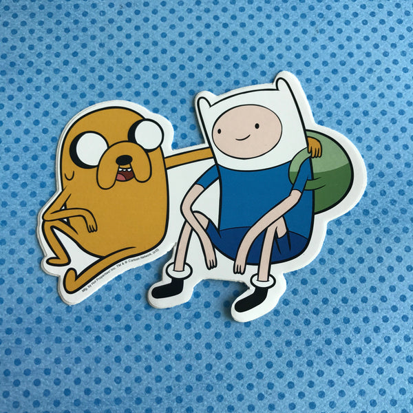 Adventure Time Finn & Jake Sticker