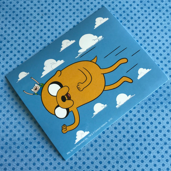 Adventure Time Flying Finn & Jake Sticker