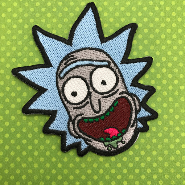 Rick and Morty Rick Patch