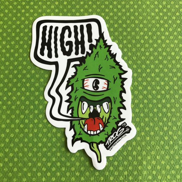 TROG High Sticker