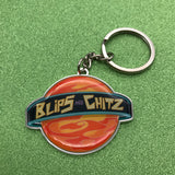 Rick and Morty Blips and Chitz Keychain