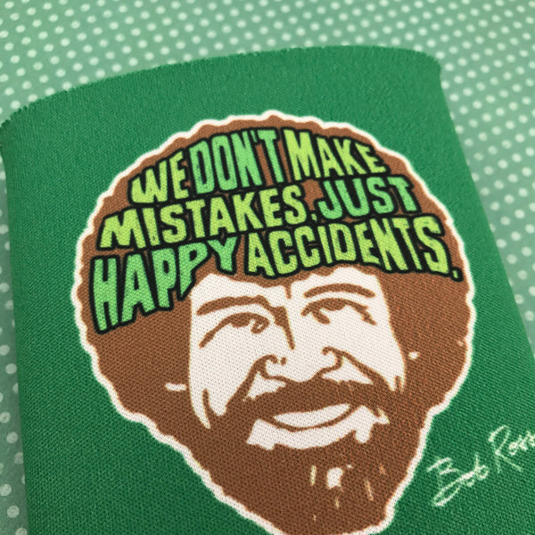 Bob Ross Happy Accidents Can Cooler