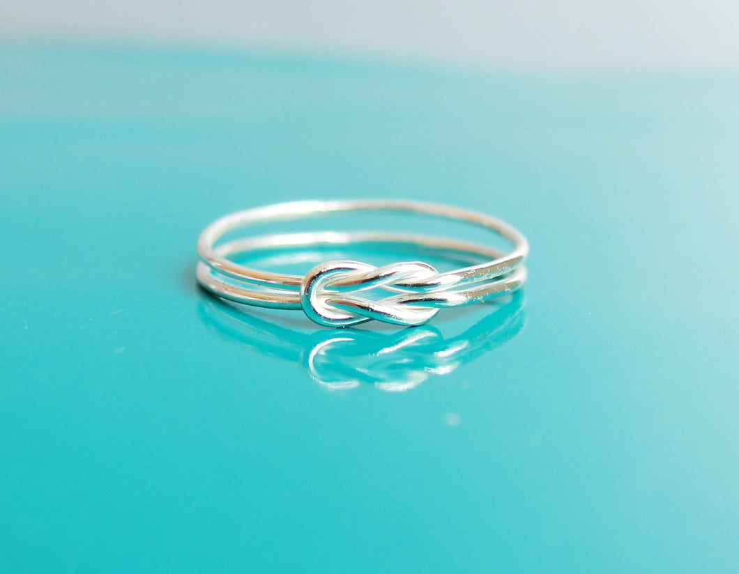 Double Knot Ring-Sterling Silver