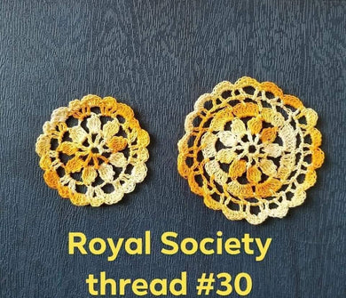 Sewing Machine Spool Pin Doily Vintage - Thread Number 30