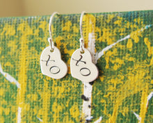 Hug and Kiss Earrings-Sterling Silver