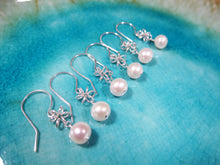 Freshwater Pearl Earrings-Bridesmaid Gift Set of 5,6,7,8,9,10,11,12-Sterling Silver