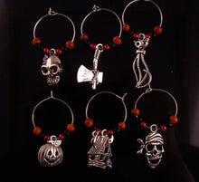 Halloween Wine Glass Charm