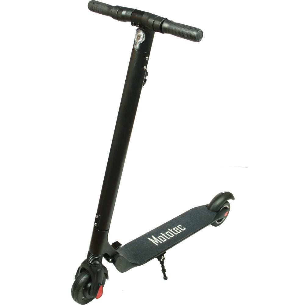 MotoTec ET Mini Pro 36v 6.6ah 250w Lithium Electric Scooter Black