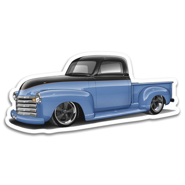 53 Chevrolet 3100 Sticker