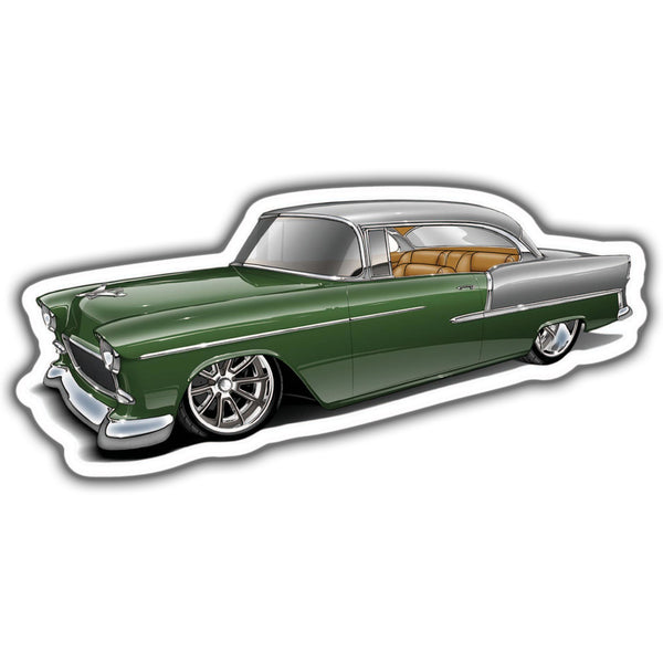 55 Chevrolet Bel Air Sticker