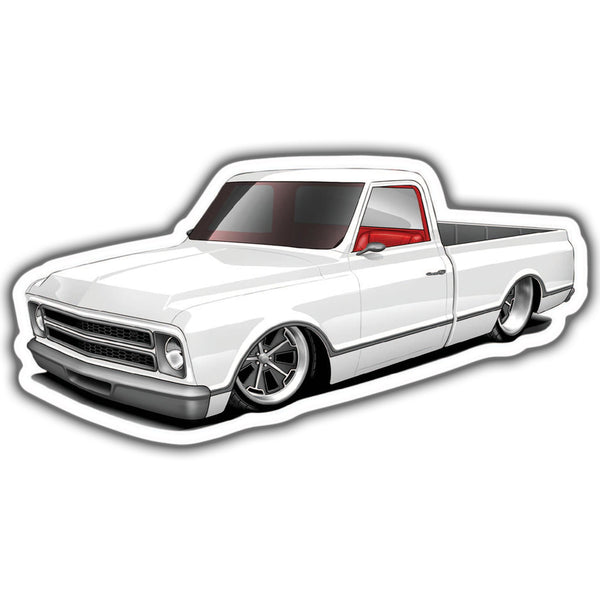 67 Chevrolet C10 Sticker