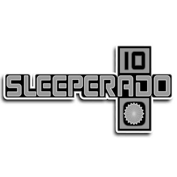 86 Sleeperado Emblem Sticker