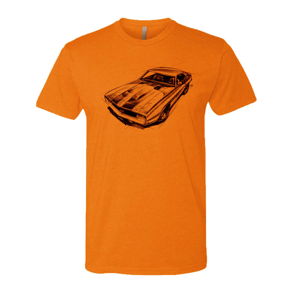 Hugger Orange Muscle Car