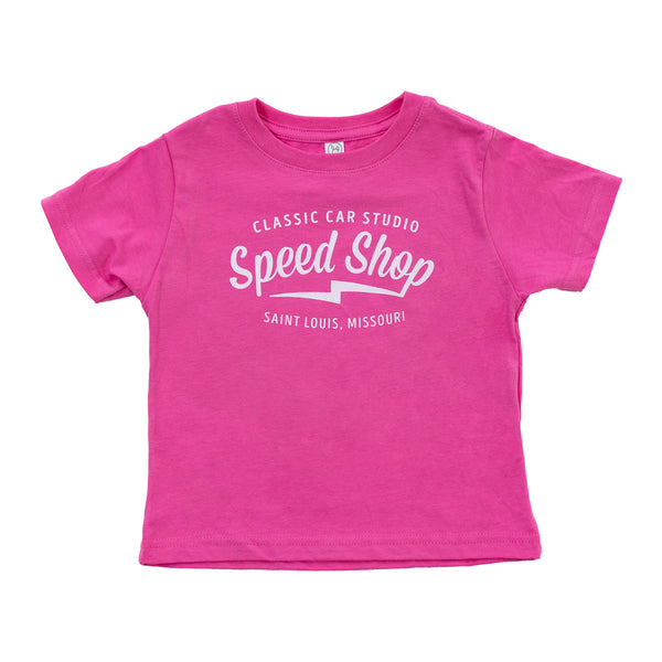 (Toddler) Speed Shop St. Louis - Pink