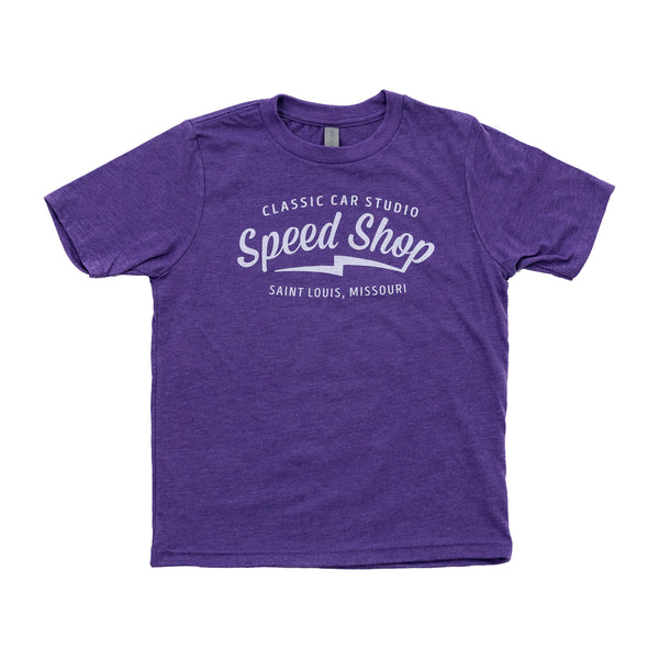 (Youth) Speed Shop St. Louis - Purple