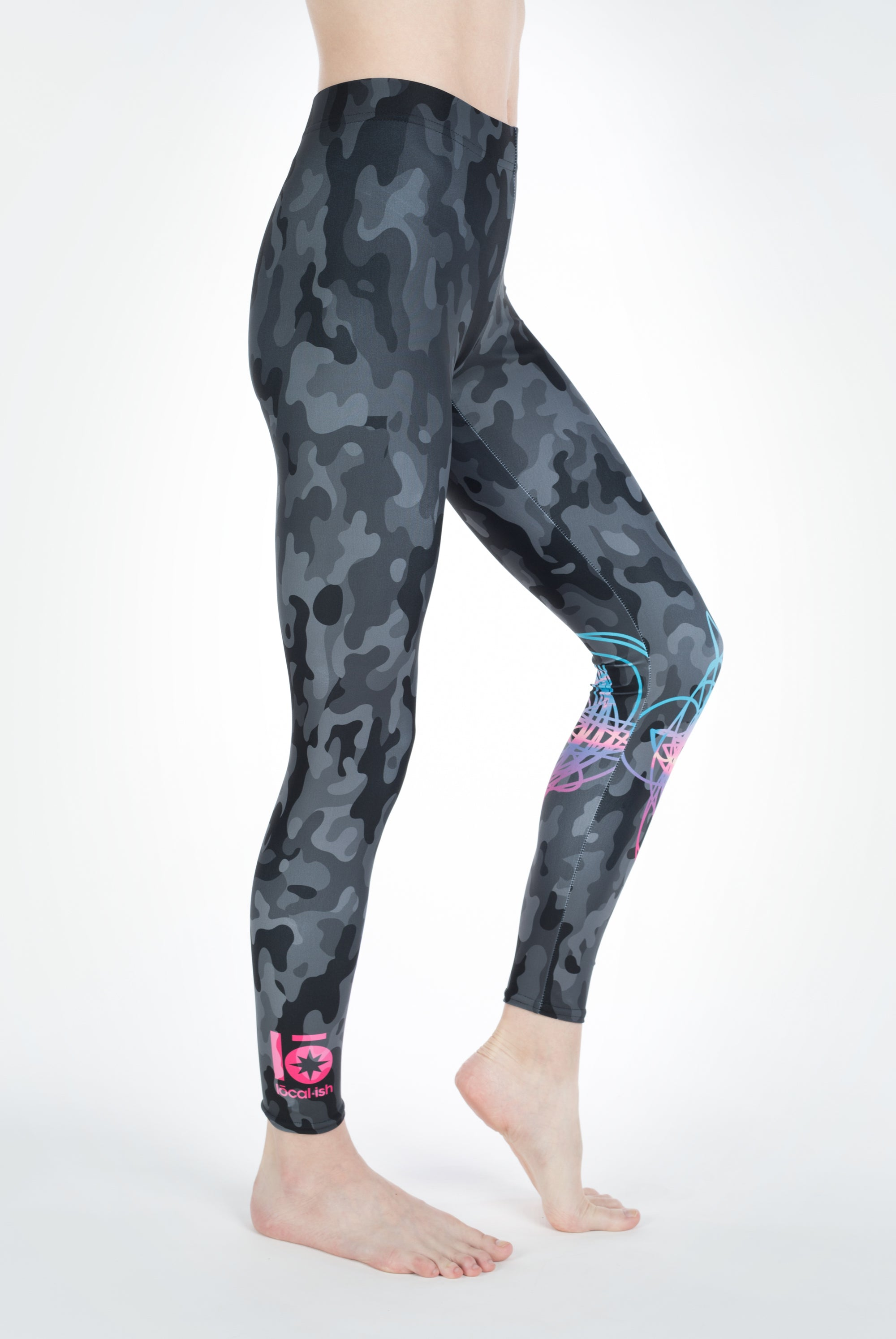 cotton candy sunset legging