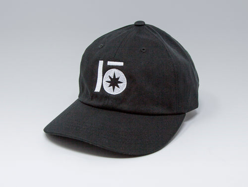 Localish Lo Star Dad Hat - Black & White - right