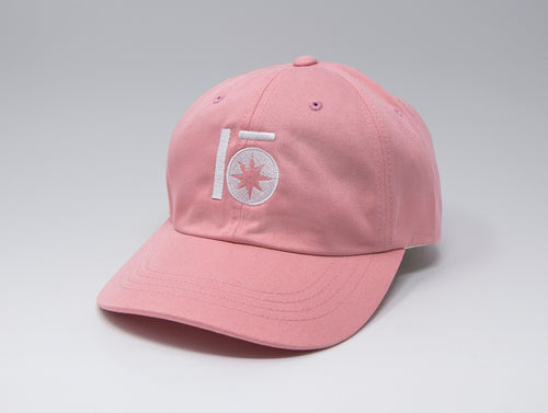 Localish Lo Star Dad Hat - Pink & White - right
