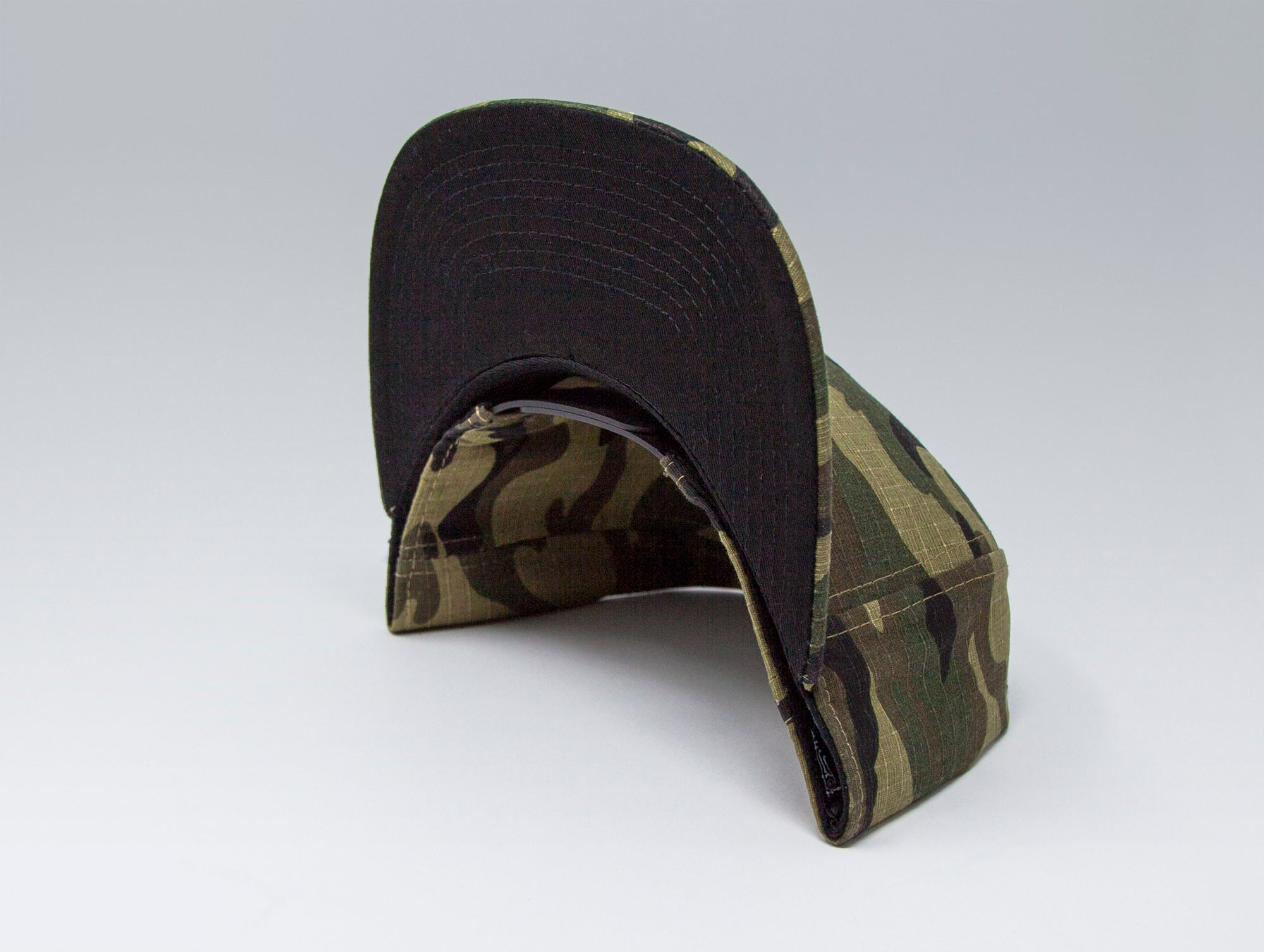 Localish Lo Star Classic Snapback Hat - Camo - bill