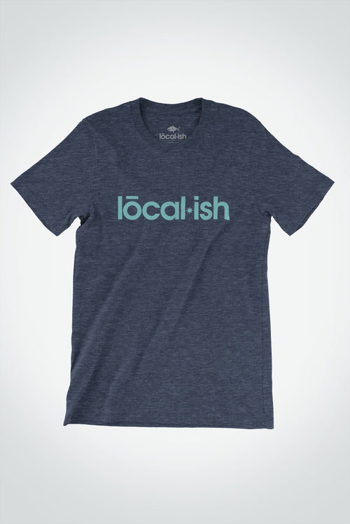 mens classic tee - heather navy