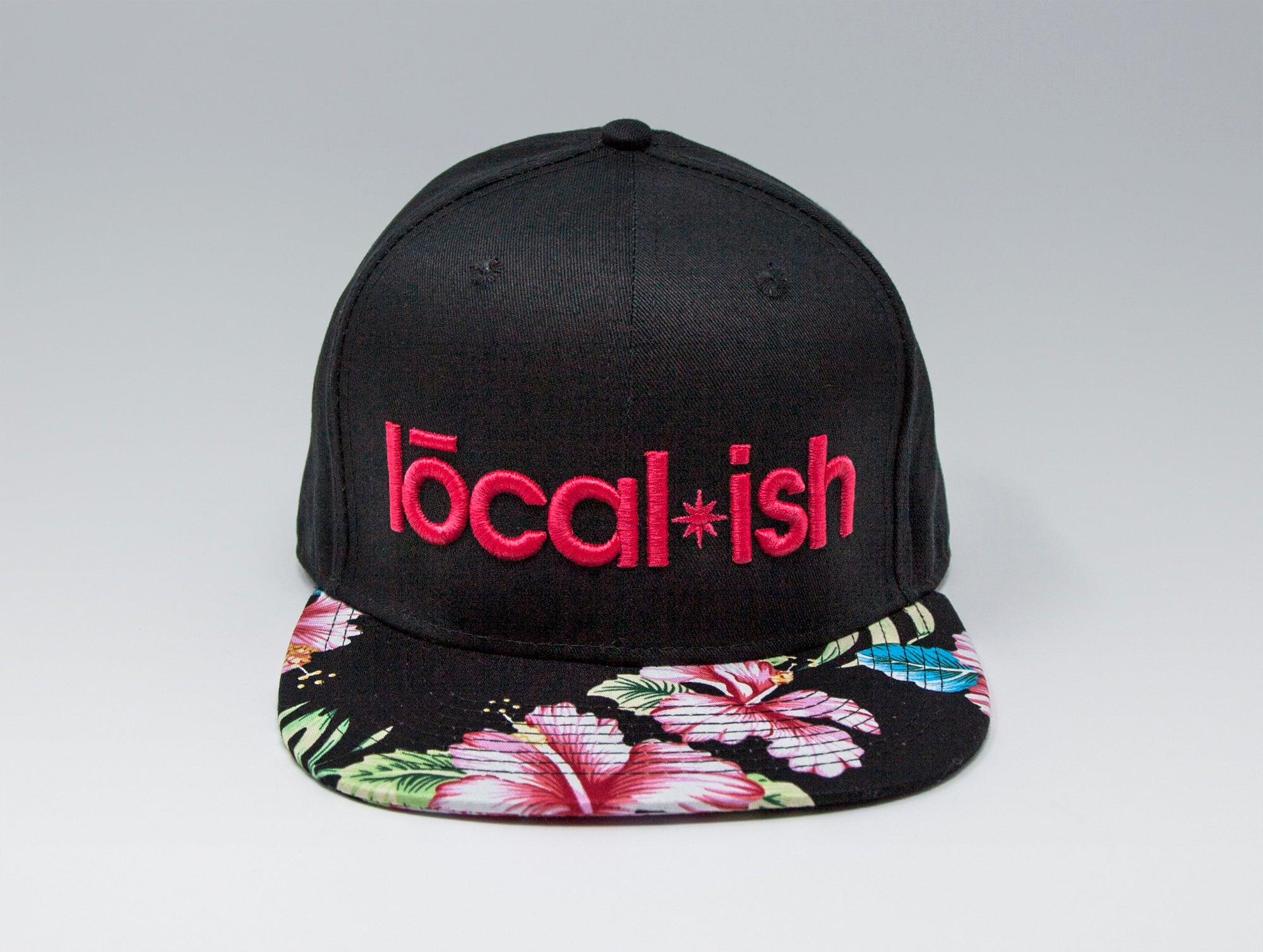 Localish Classic Snapback Hat - Aloha - center