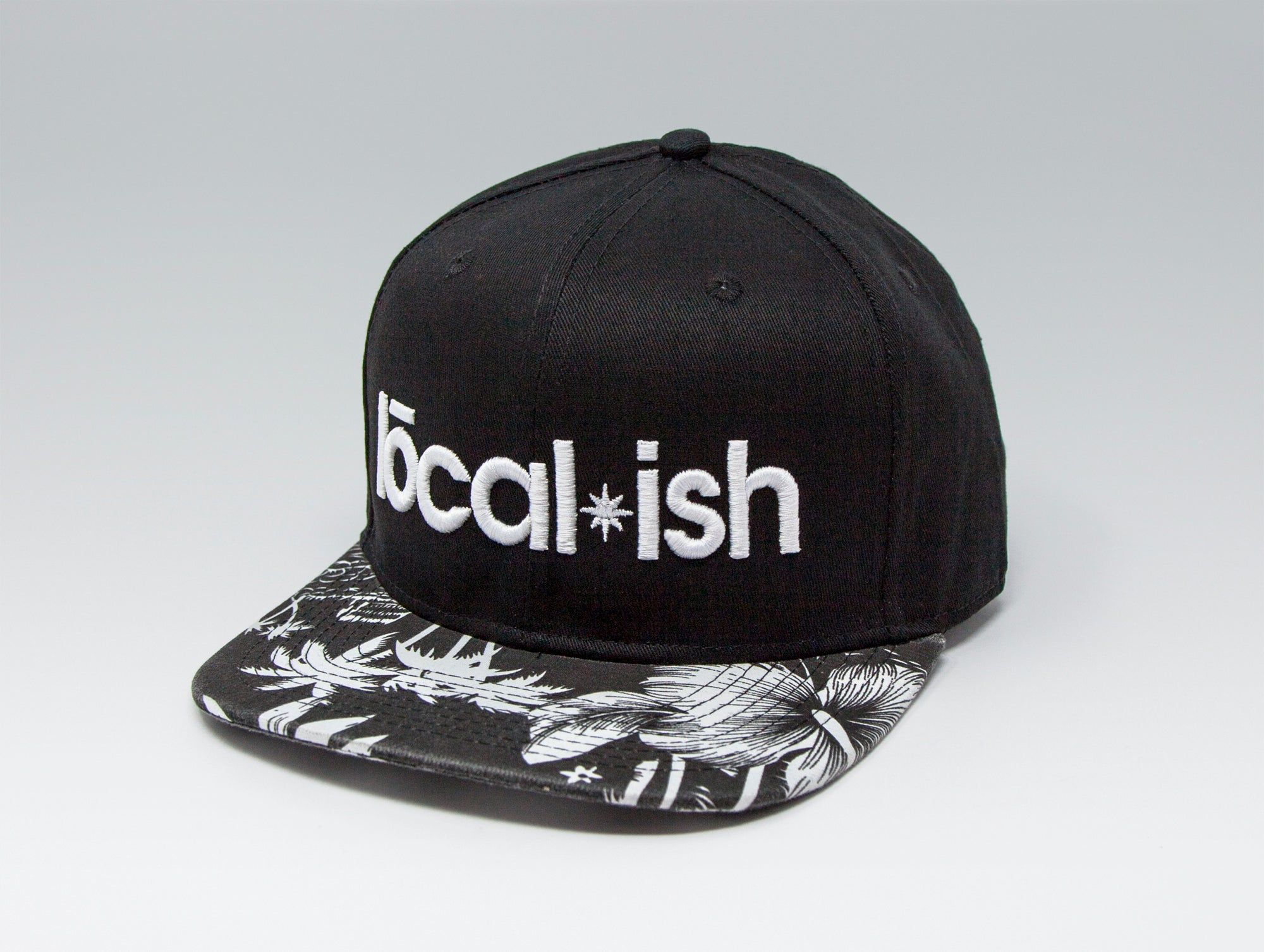 Localish Classic Snapback Hat - Palm Trees - right